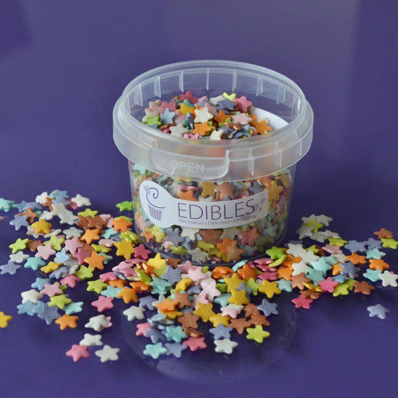 Shimmer Stars Multi Colours
