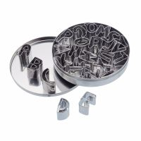 Cookie Cutters in a Tin - 26 Piece Alphabet Set