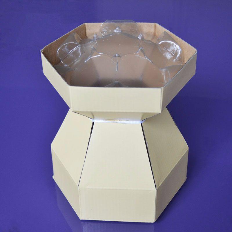 Cupcake Bouquet Box - Cream