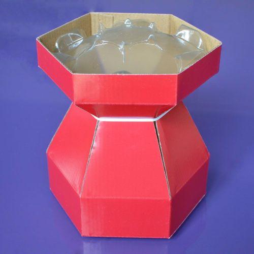 Cupcake Bouquet Box - Red