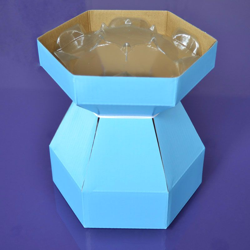 Cupcake Bouquet Box - Sky Blue
