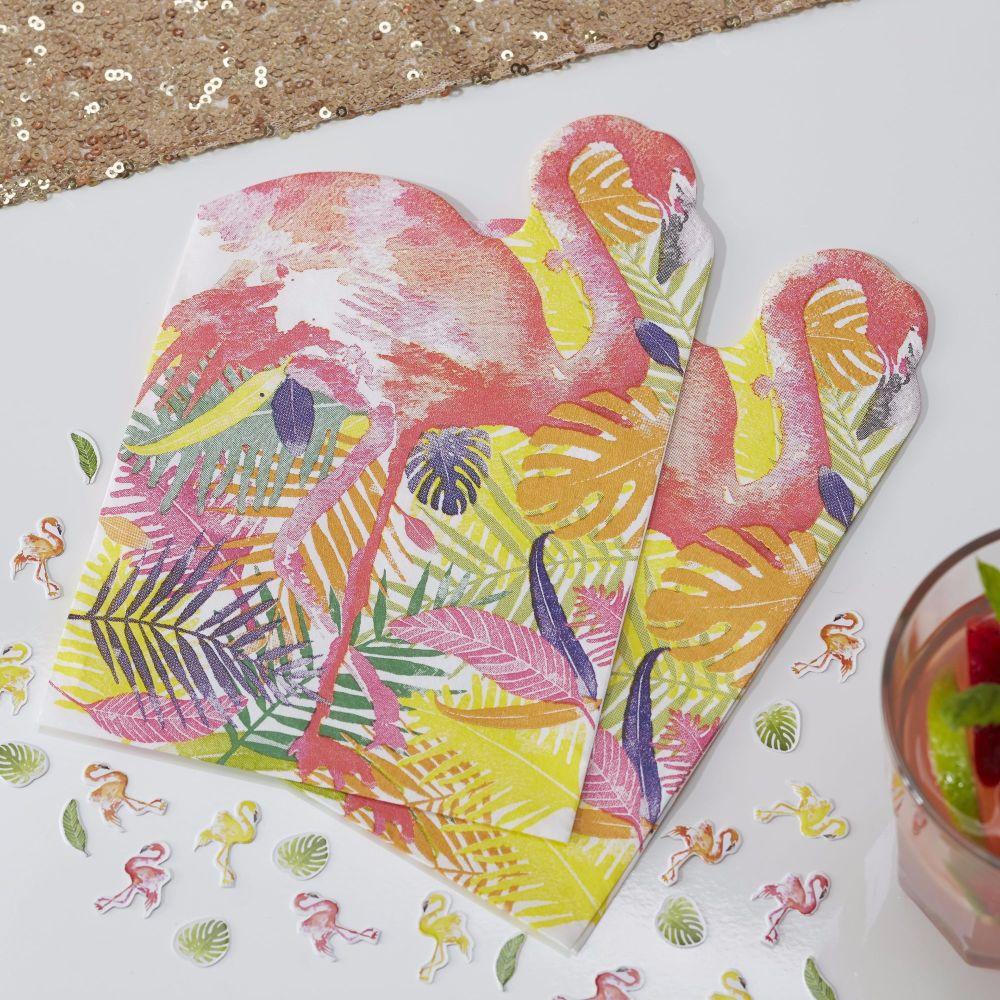 Flamingo Napkins - Flamingo Fun