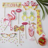 Flamingo Photo Booth Props
