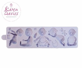 Karen Davies Babies Sugarcraft Mould