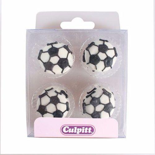 Football Sugar Pipings