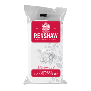 Renshaw Flower and Modelling Paste 250g - WHITE