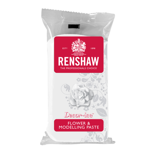 Renshaw Flower and Modelling Paste - White
