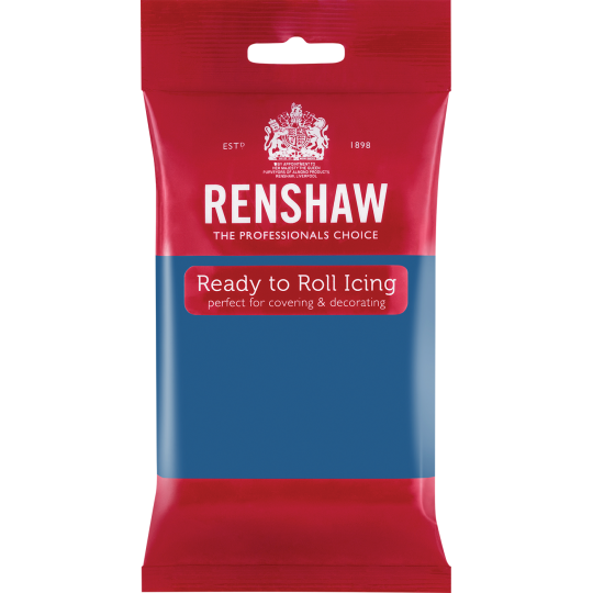 Renshaw Ready To Roll Icing - Atlantic Blue