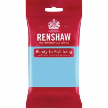 Renshaw Ready To Roll Icing - Baby Blue