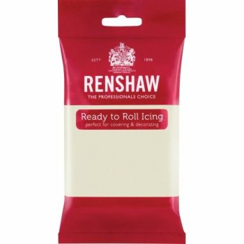 Renshaw Ready To Roll Icing - Celebration Cream 250g