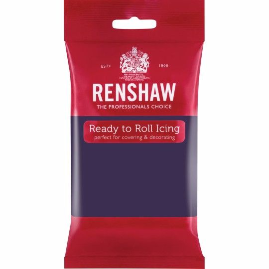 Renshaw Ready To Roll Icing - Deep Purple