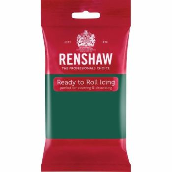 Renshaw Ready To Roll Icing - Emerald Green