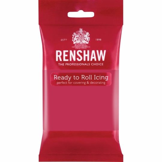 Renshaw Ready To Roll Icing - Fuschia Pink