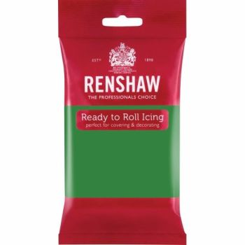 Renshaw Ready To Roll Icing - Lincoln Green