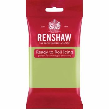 Renshaw Ready To Roll Icing - Pastel Green