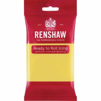 Renshaw Ready To Roll Icing - Pastel Yellow