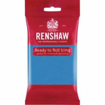 Renshaw Ready To Roll Icing - Turquoise Blue