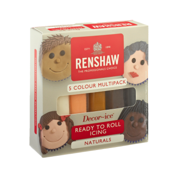Renshaw Ready To Roll Icing - Natural Colours