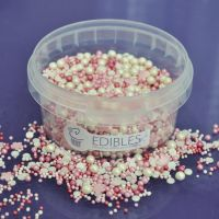 Purple Cupcakes Edibles Sprinkle Mix - Petal 100g