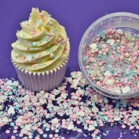 Purple Cupcakes Edibles Sprinkle Mix - Unicorn 100g