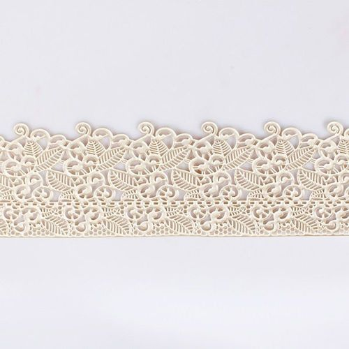 Edible Pearl Cake Lace - Floral