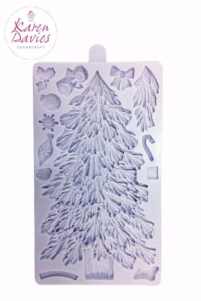 Karen Davies Christmas Tree Sugarcraft Mould