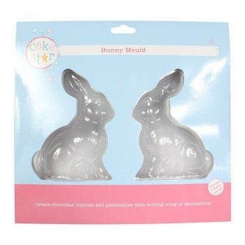 Cake Star Chocolate Bunny Mould