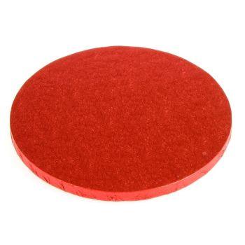 "Cake Drum - 12"" Round Red"