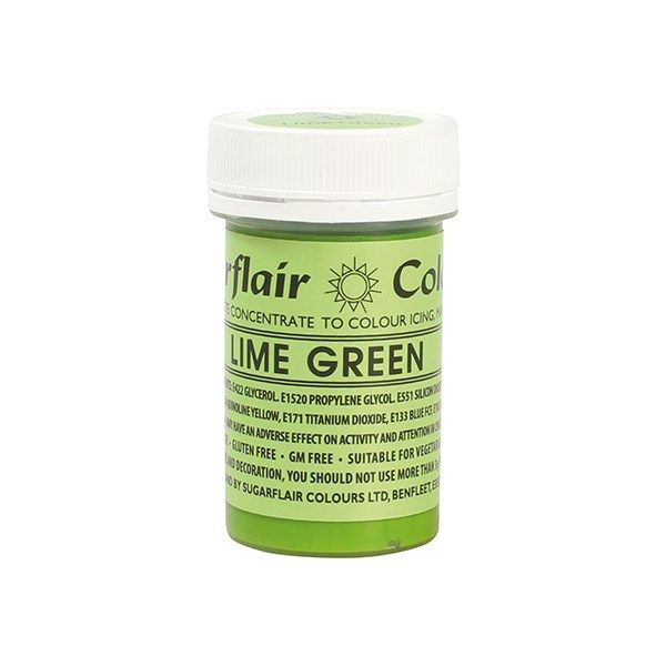 Paste Colours 25g - Lime Green