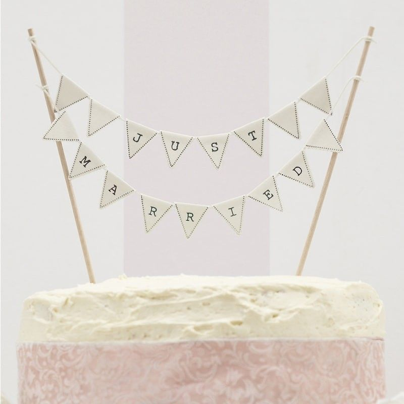Bunting - Just Married