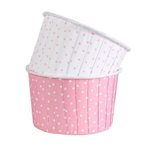 Baking Cups - Polka Dot Pink