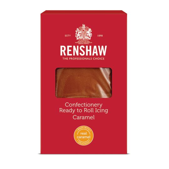 Renshaw Ready To Roll Confectionery Icing 1kg - Caramel