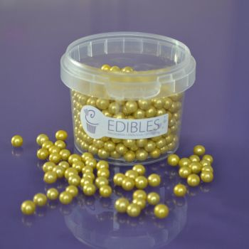 Edible Gold Balls - 6mm