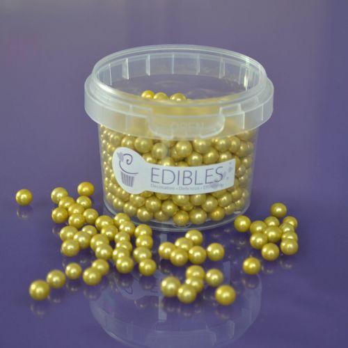 Edible Gold Balls - 6mm