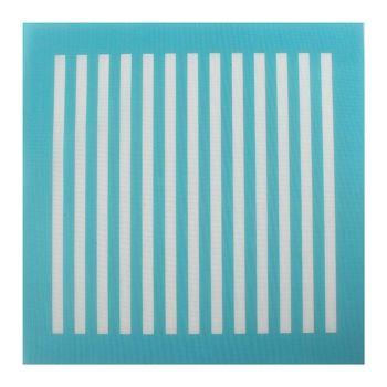 Cake Stencil - Mesh Vertical Lines