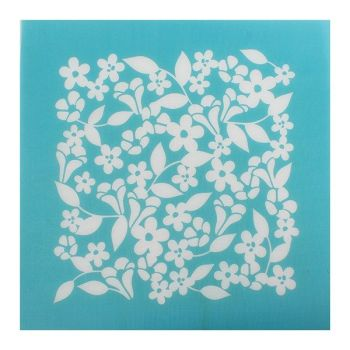 Cake Stencil - Mesh Floral
