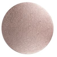 "Cake Drum - Rose Gold 12"" Round"