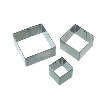 Square Cutters - Pack of 3