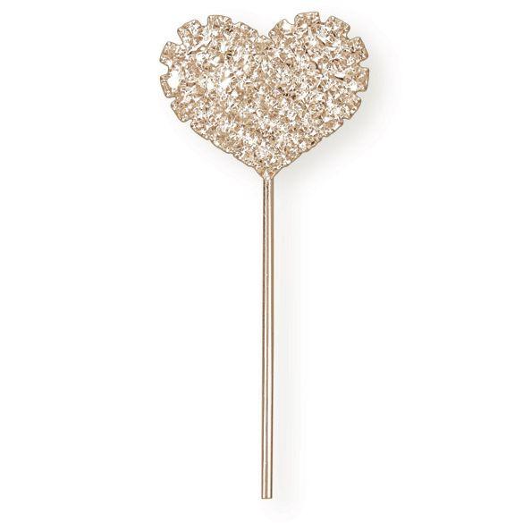 Diamante Rose Gold Heart