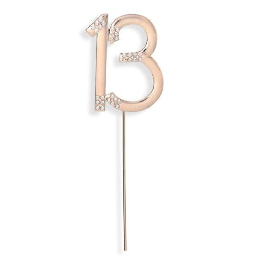Diamante Rose Gold 13th