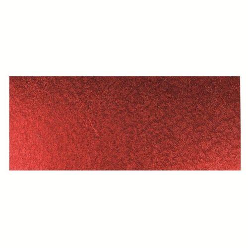 Red Log Cake Card 12'' x 5''