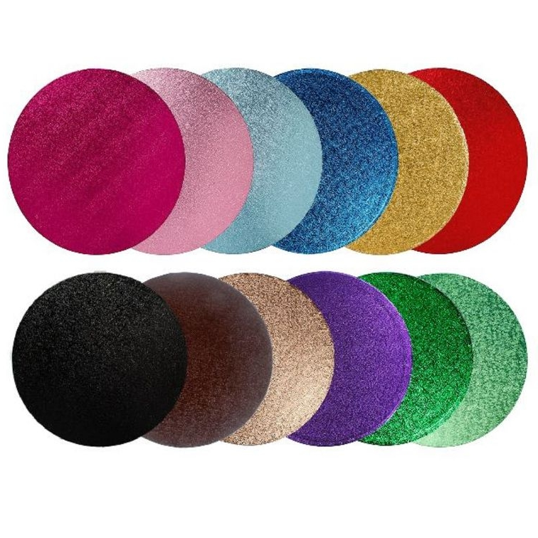Coloured Cake Boards and Drums