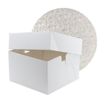 """Cake Box & Drum Set - ROUND 10"""""""