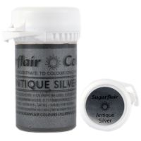 Satin Paste - Antique Silver 25g