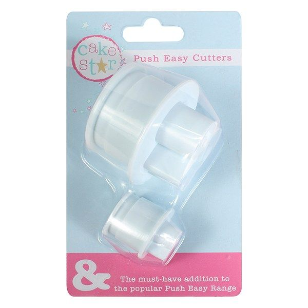 Cake Star Push Easy ''&'' Large and Small Cutters