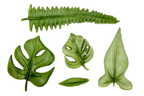 NEW - Tropical Leaves