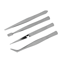 Tweezers Set of 4