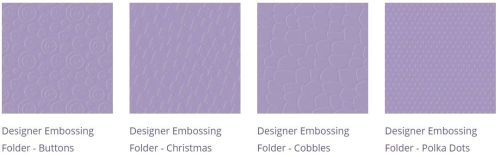 Embossing Folders Bundle 5