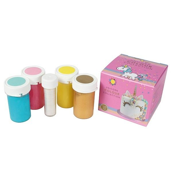 Sugarflair Unicorn Colour Collection