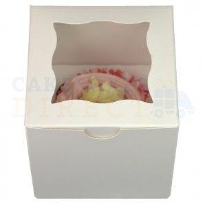 Cupcake Box - 1 Cupcake (x 4 boxes)